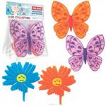 Мини коврики бабочки цветочки