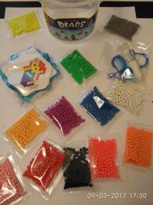 Aqua beads Аква бусины 1800 бусин