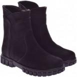 Подростковые ботинки из нубука (байка/экомех/цигейка)