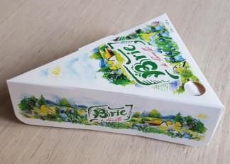 «Бри де фамиль», сыр мягкий с белой плесенью, 125 гр