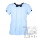 011-1 Блузка для девочки с коротким рукавом