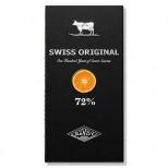 Swiss Original Горький Шоколад с кусочками апельсина 100 гр