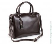 Женская кожаная сумка 1247 Кофе