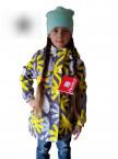 Куртка-парка  для девочки демисезонная, отличного качества!