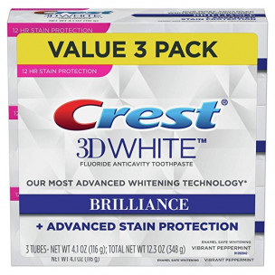 Crest Toothpaste 3D White Brilliance (3шт)