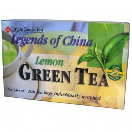 Зелёный чай со вкусом лимона, Легенды Китая, 100 пакетиков
