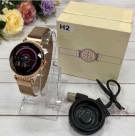 Умные часы ZDK H2 водостойкий, пульсометр, шагомер, тонометр