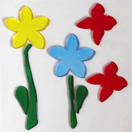 Аппликация декоративная Magic Gel Цветы