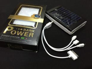 Power Bank с солнечной батареей, 20 000 mAh