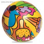 Мяч надувной «Поп-арт»
