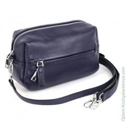 Женская кожаная сумка 066 Блу