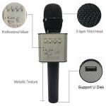Micgeek Q9 беспроводной микрофон bluetooth (черный)