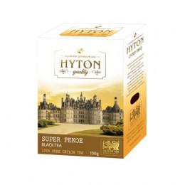 Чай Хайтон  Цейлонский Супер Пекое 100 гр картон.