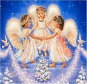 Вышивка стразами * Ангелы