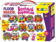 Пазл TOYSUNION 00-651 Веселый паровозик