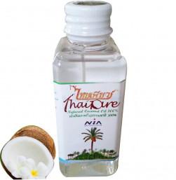 Масло кокосовое 100% Thai Pure пищевое нерафинированное 60мл