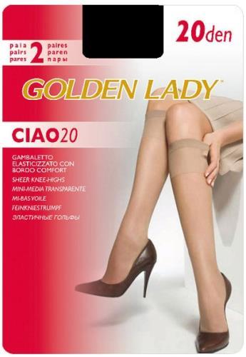 Гольфы GOLDEN LADY Ciao 20 Gamb.(гольфы - 2 пары)
