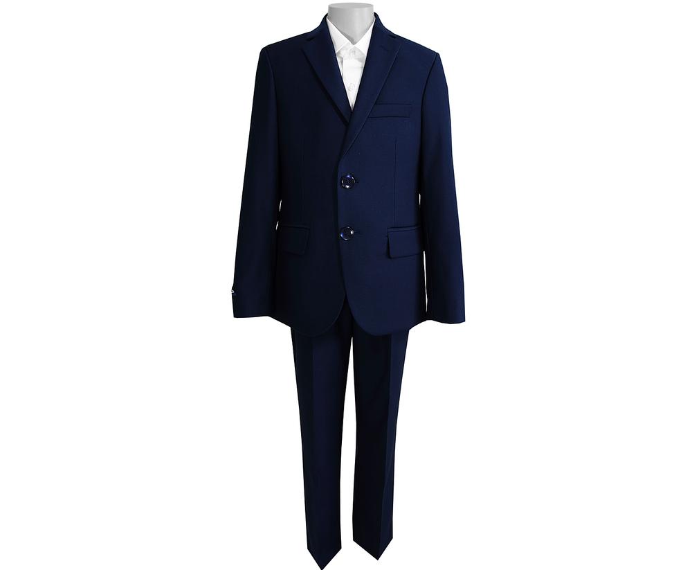 Школьный костюм-тройка для мальчика UNIK KIDS тёмно-синий