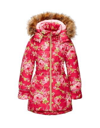 Куртка удлиненная для девочки