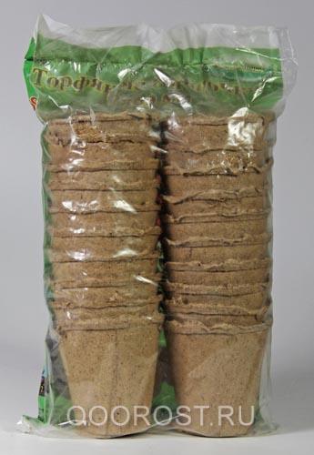 Торфяные горшки(упак. 20 шт) 8*8см