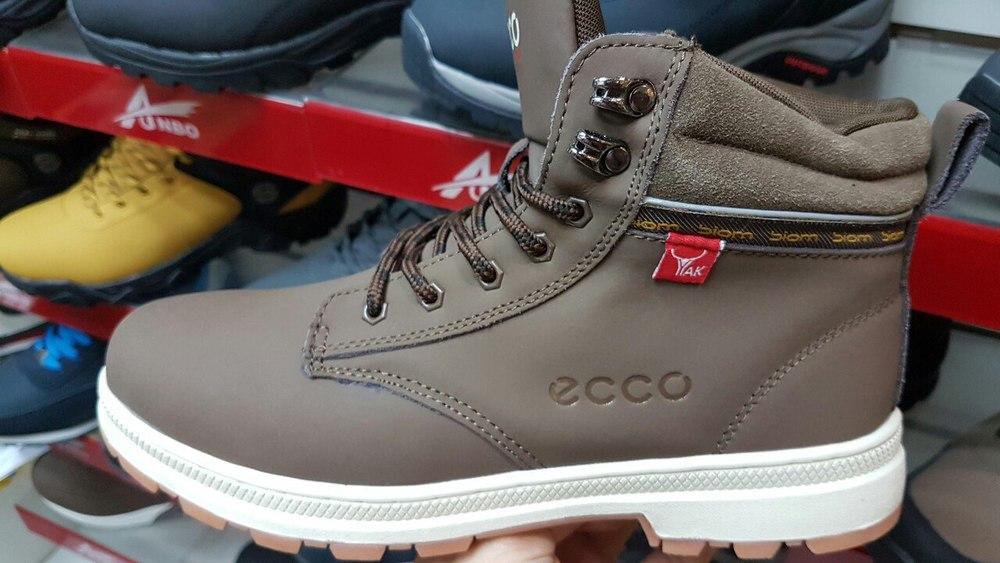 ЗИМА! Мужские ботинки ECCO