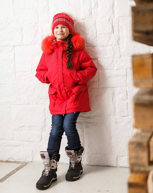 Парка для девочек PAGE Lenne/Kerry (зима)