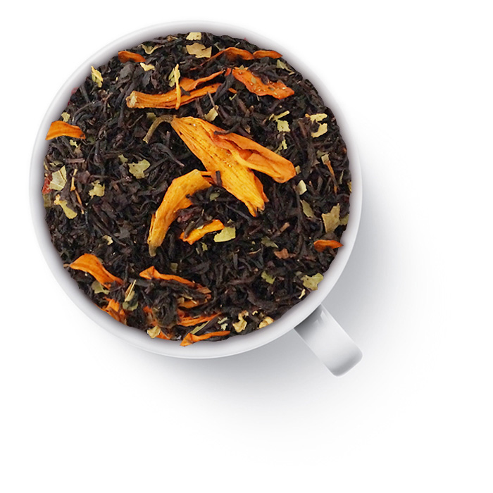 black almond tea