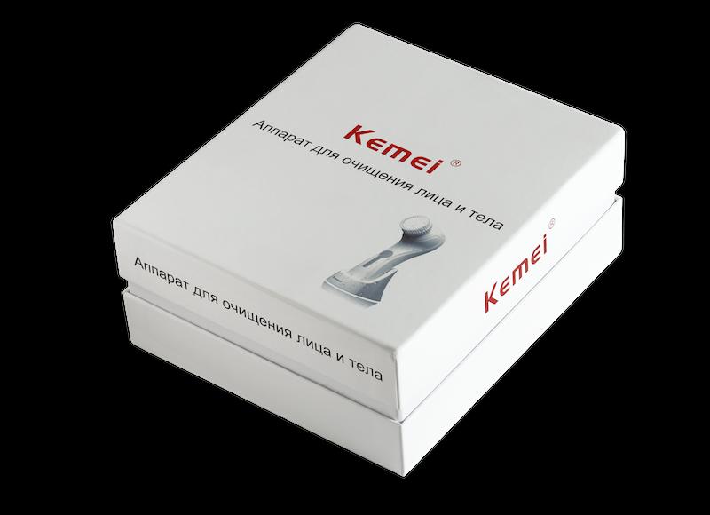 Kemei Pulsar аппарат для очищения кожи лица и тела