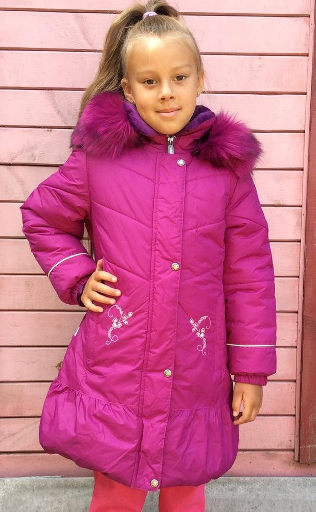 Lenne, пальто зимнее для девочки артикул 15333