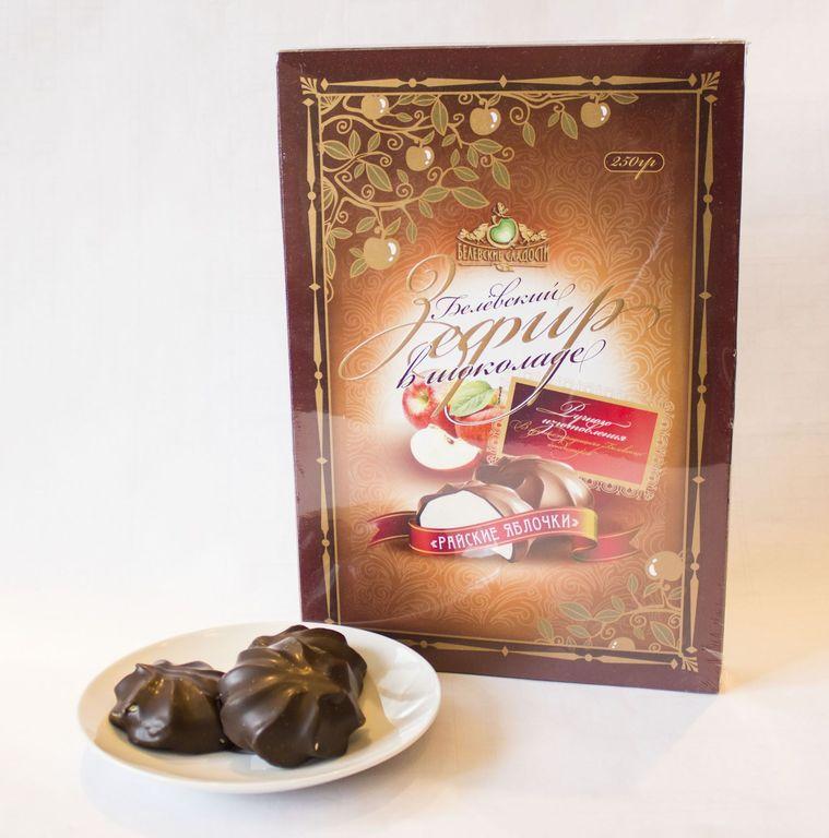 """Зефир в шоколаде """"Райские яблочки"""",  1 кг"""