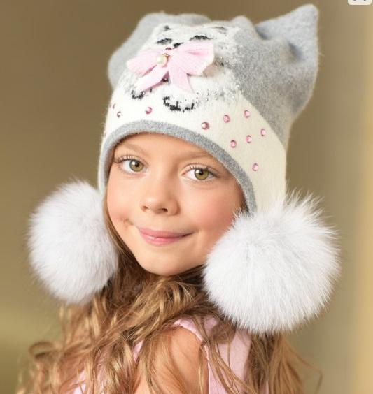 шапка котенок