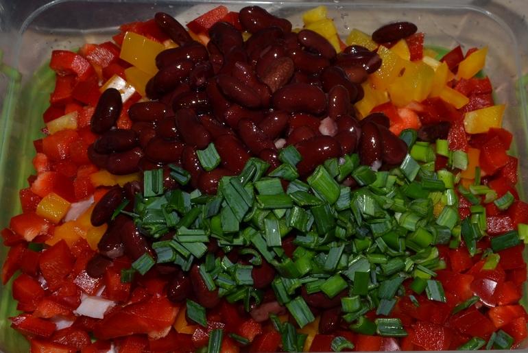 Салат весенний с кукурузой рецепт с фото