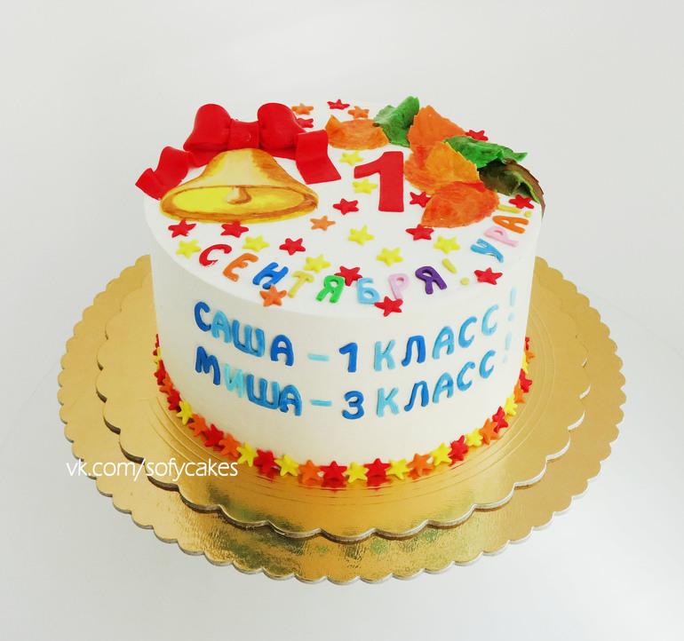 1 сентября торт фото