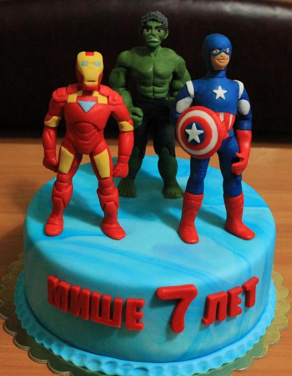мстители торт фото