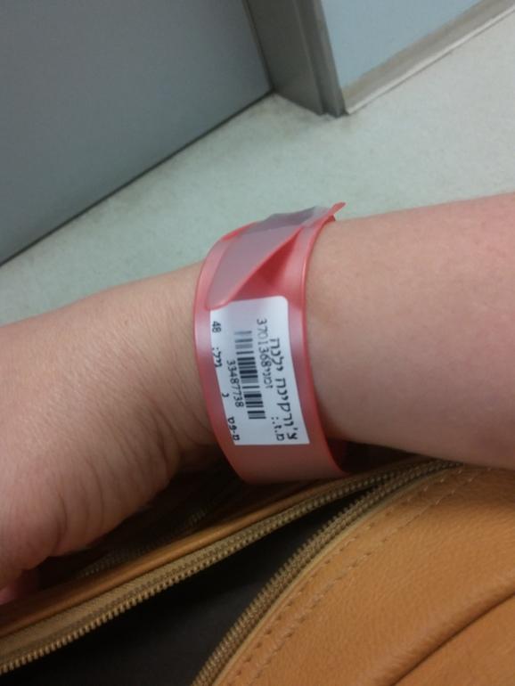 Контрольное обследование запись пользователя Елена Чуркина  Первое обследование ПЭТ КТ Опять на мне красный браслет аллергия