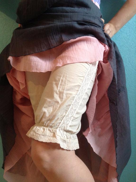 У старух под юбкой