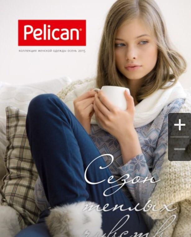 пеликан размерная сетка детской одежды