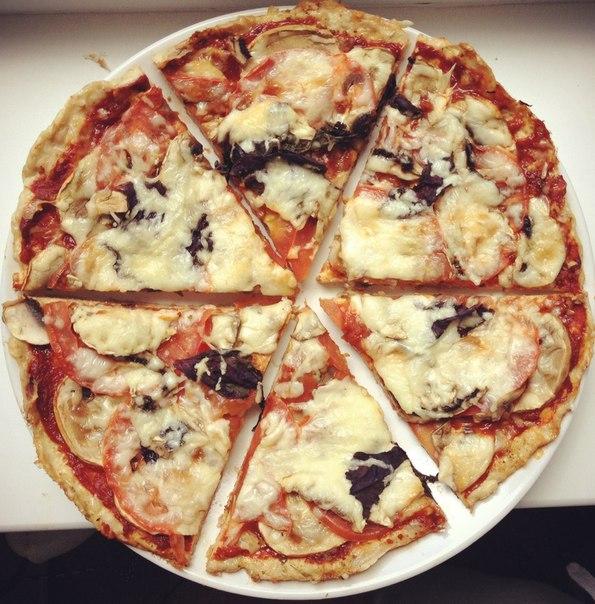 Пицца без теста рецепт фото
