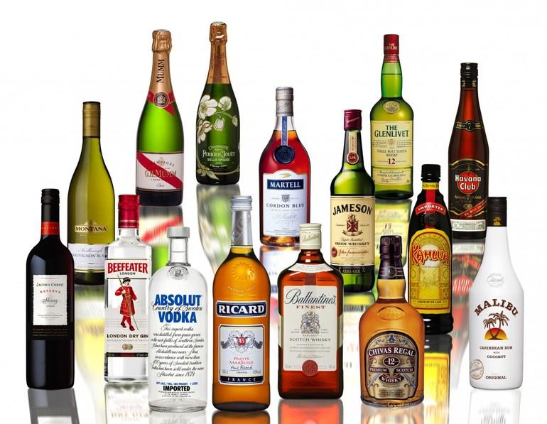Какие бывают алкогольные напитки