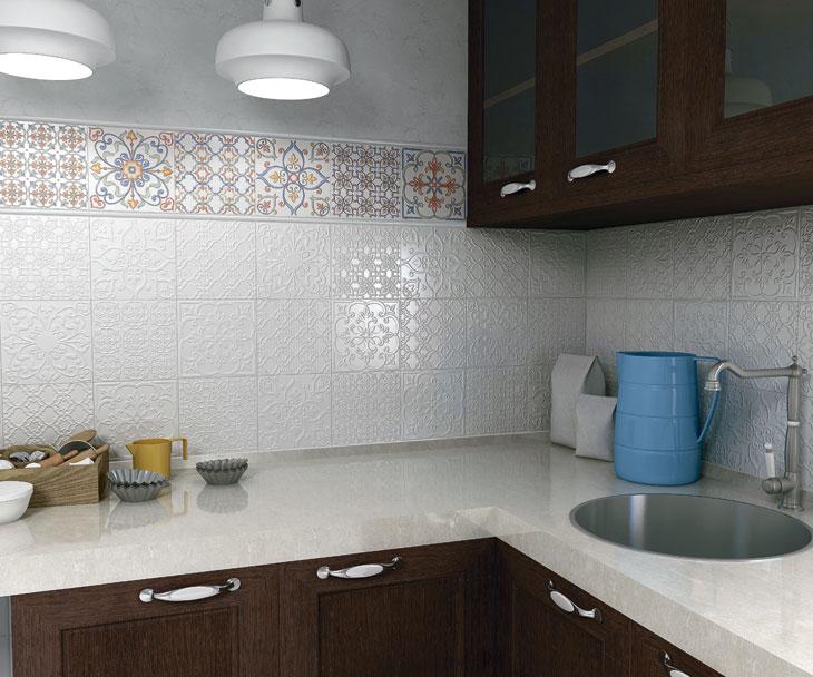 Плитка суррей в интерьере кухни
