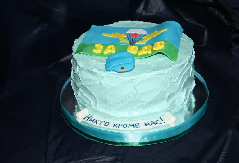 Фото торта на день вдв