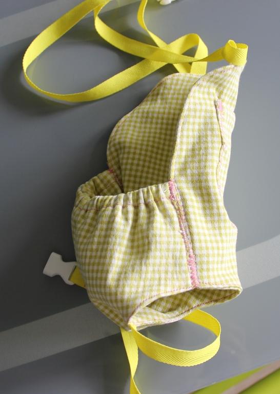 Как сшить рюкзак-кенгуру для куклы почем рюкзак