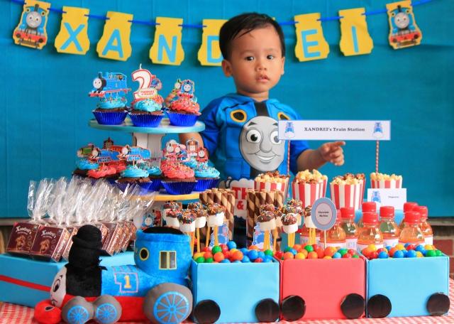 Сценарий день рождения с паровозиками